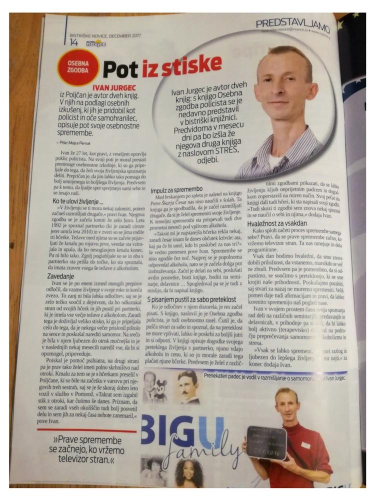 Ivan Jurgec - Bistriske novice