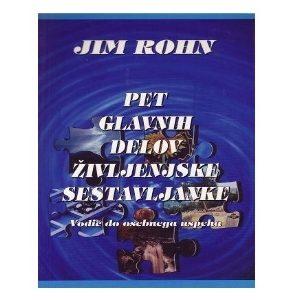 Pet glavnih delov življenjske sestavljanke - Jim Rohn