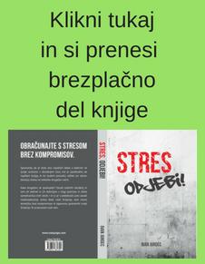 Brezplačen del knjige STRES, Odjebi